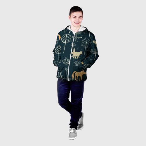 Мужская куртка 3D  Фото 03, Чудеса природы