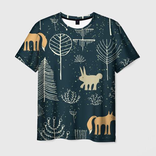 Мужская футболка 3D  Фото 03, Чудеса природы