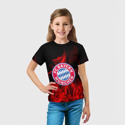 Детская футболка 3D BAYERN MUNCHEN Фото 01