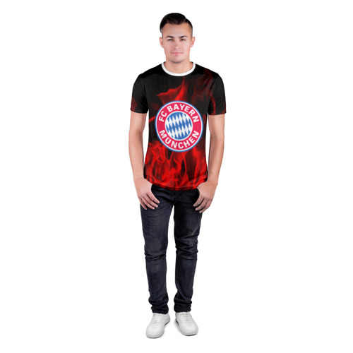 Мужская футболка 3D спортивная BAYERN MUNCHEN Фото 01