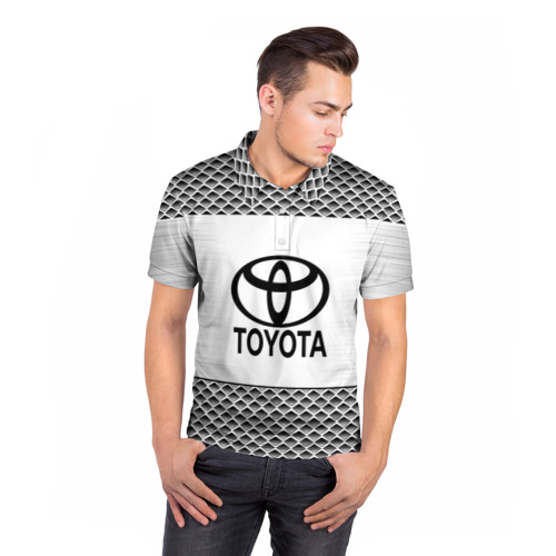 Мужская рубашка поло 3D  Фото 05, TOYOTA SPORT