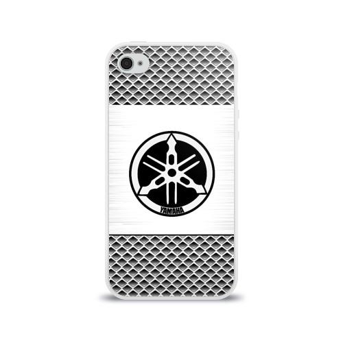 Чехол для Apple iPhone 4/4S силиконовый глянцевый YAMAHA SPORT Фото 01
