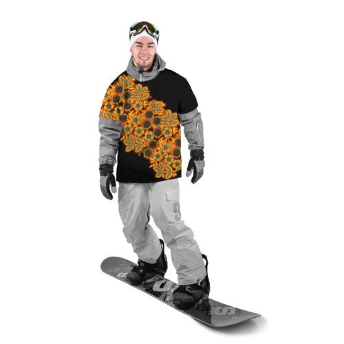 Накидка на куртку 3D  Фото 03, Славянский орнамент