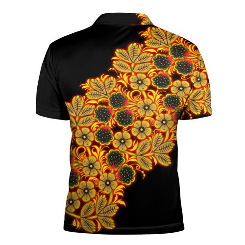 Мужская рубашка поло 3D Славянский орнамент