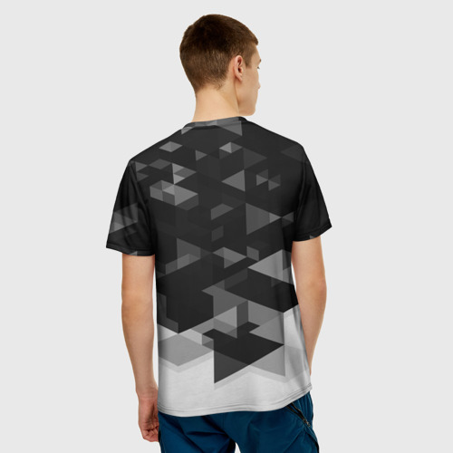 Мужская футболка 3D  Фото 02, Bayern Munchen Geometry Sport