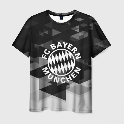 Мужская футболка 3D  Фото 03, Bayern Munchen Geometry Sport