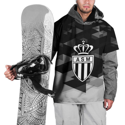 Накидка на куртку 3D  Фото 01, FC Monaco sport geometry