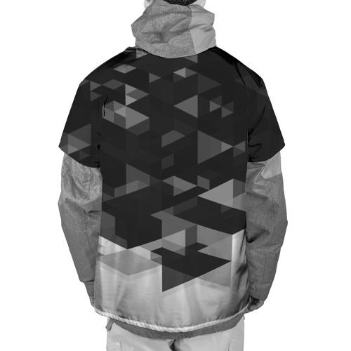 Накидка на куртку 3D  Фото 02, FC Barcelona sport geometry