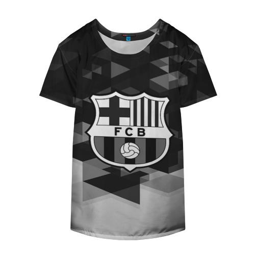 Накидка на куртку 3D  Фото 04, FC Barcelona sport geometry