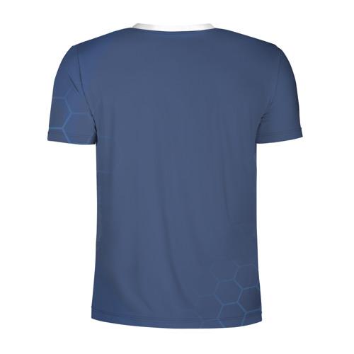 Мужская футболка 3D спортивная Russia 2018 (Light-Blue) Фото 01