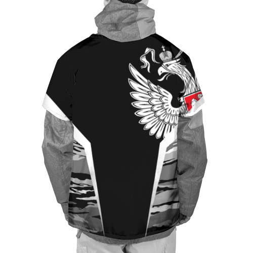 Накидка на куртку 3D  Фото 02, Камуфляж Россия