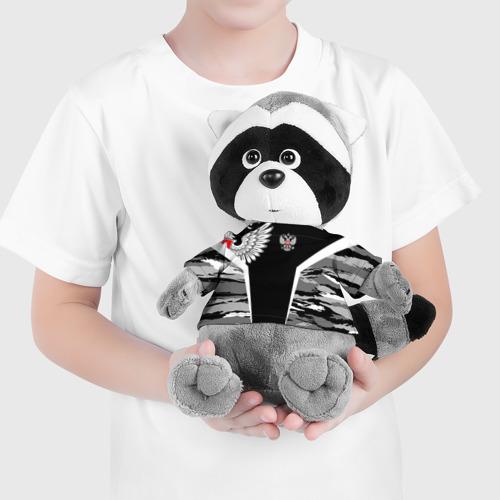 Енотик в футболке 3D Камуфляж Россия Фото 01