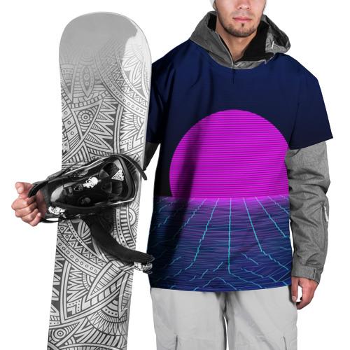 Накидка на куртку 3D  Фото 01, Солнце