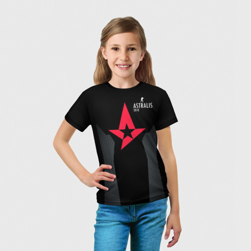 Детская футболка 3D  Фото 03, Astalis - The Form