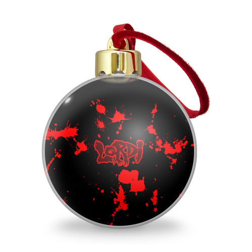Ёлочный шар с блестками  Фото 01, Lordi
