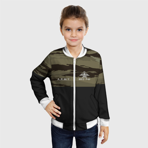 Детский бомбер 3D  Фото 06, Камуфляж ВКС РФ