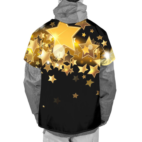 Накидка на куртку 3D  Фото 02, Золотые звездочки
