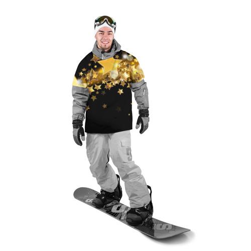 Накидка на куртку 3D  Фото 03, Золотые звездочки