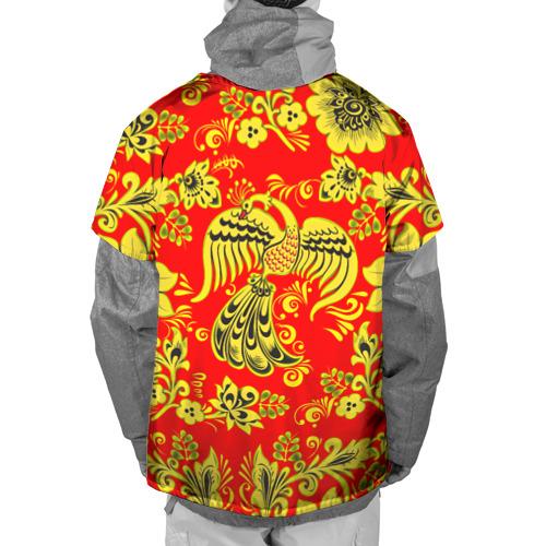 Накидка на куртку 3D  Фото 02, Огненная гжель