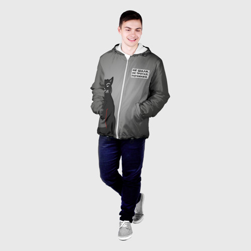 Мужская куртка 3D  Фото 03, Мастер и Маргарита Бегемот