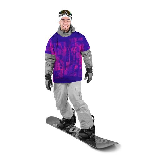 Накидка на куртку 3D  Фото 03, Неоновые краски