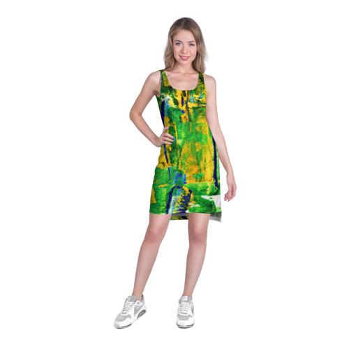 Платье-майка 3D  Фото 03, Краски лета