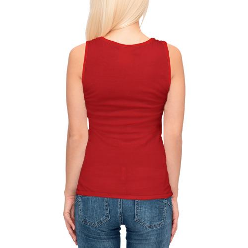 Женская майка 3D  Фото 04, Красная машина