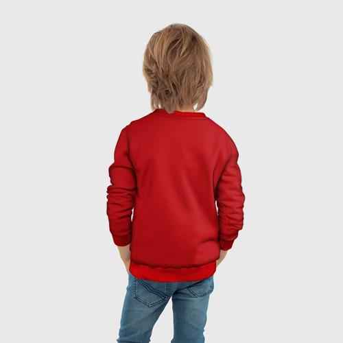 Детский свитшот 3D Red machine (Красная машина) Фото 01