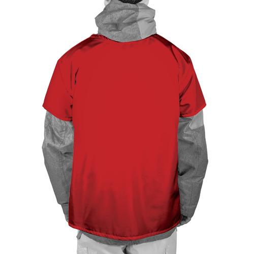 Накидка на куртку 3D  Фото 02, Red machine (Красная машина)