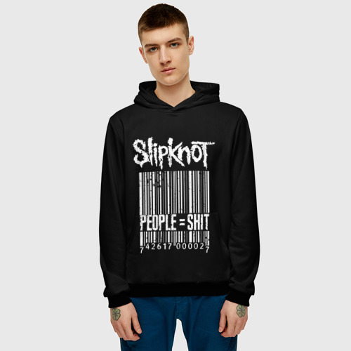 Мужская толстовка 3D Slipknot People Фото 01