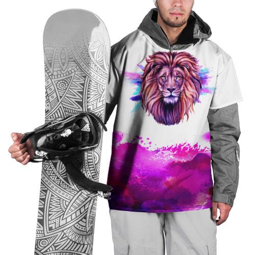 Накидка на куртку 3D  Фото 01, watercolor lion