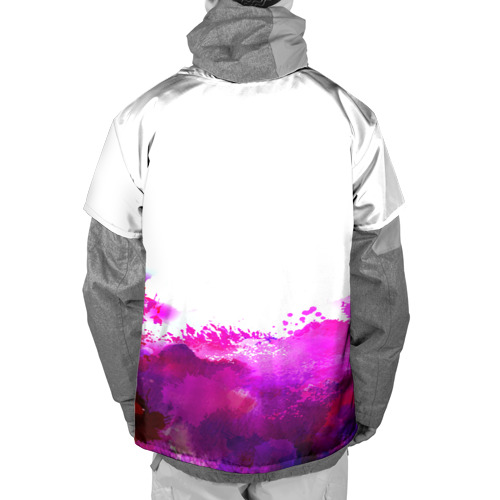 Накидка на куртку 3D  Фото 02, watercolor lion