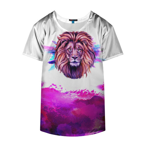 Накидка на куртку 3D  Фото 04, watercolor lion
