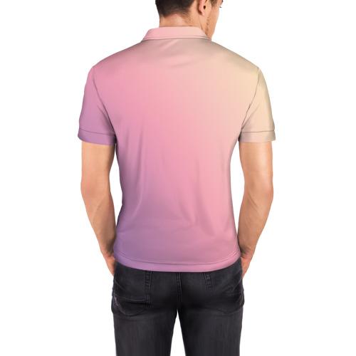 Мужская рубашка поло 3D  Фото 04, Run