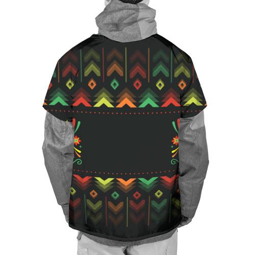 Накидка на куртку 3D  Фото 02, Никогда не сдавайся!