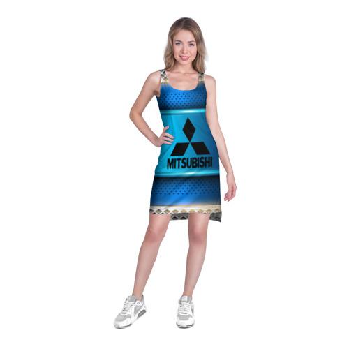 Платье-майка 3D  Фото 03, MITSUBISHI sport collection
