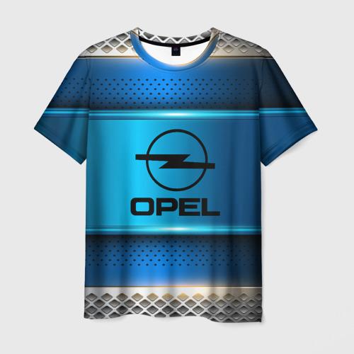 Мужская футболка 3D  Фото 01, Opel sport collection