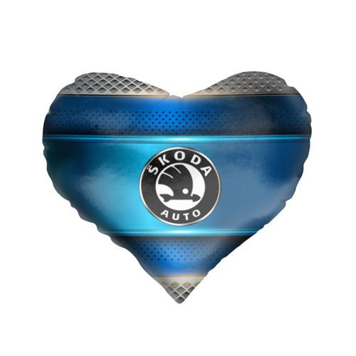 Подушка 3D сердце  Фото 01, SKODA sport collection