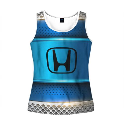 Женская майка 3D  Фото 01, Honda sport collection