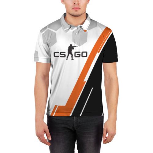 Мужская рубашка поло 3D  Фото 03, CS:GO SPORT