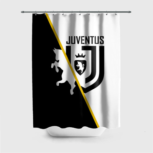 Штора 3D для ванной JUVENTUS FOOTBALL POINT