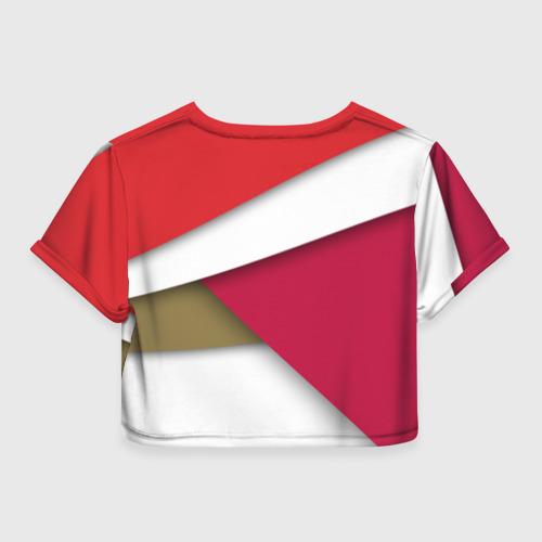 Женская футболка Cropp-top Арсенал формы Фото 01