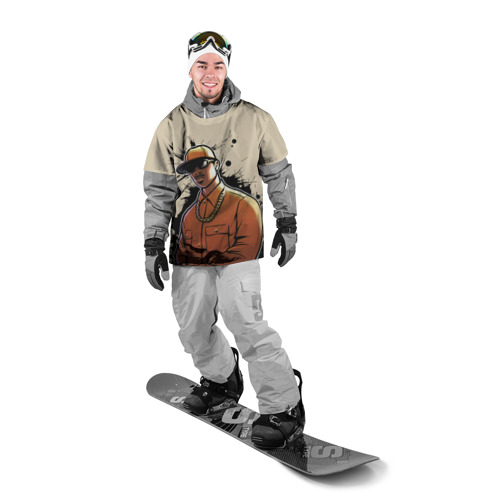 Накидка на куртку 3D  Фото 03, GTA SA - Ог Лок