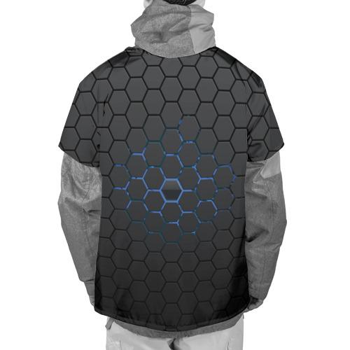 Накидка на куртку 3D  Фото 02, Соты карбон