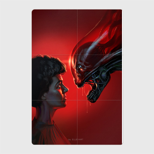 Ripley and Alien
