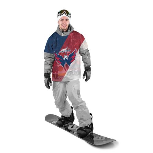 Накидка на куртку 3D  Фото 03, вашингтон кэпиталз