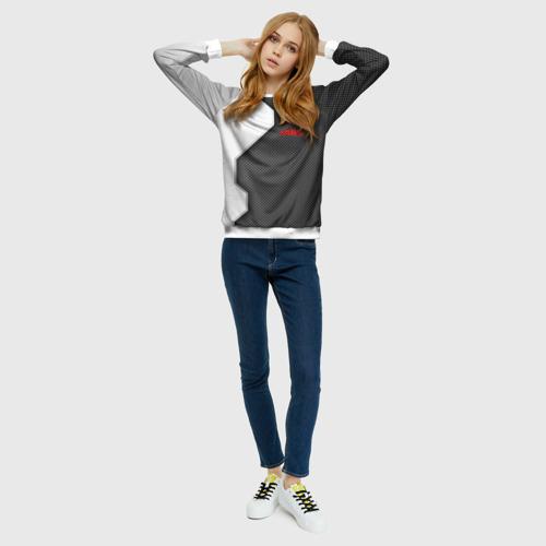 Женский свитшот 3D Opel sport uniform auto Фото 01