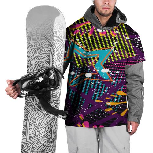 Накидка на куртку 3D  Фото 01, STARS COLOR