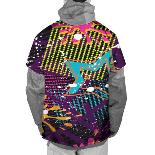 Накидка на куртку 3D  Фото 02, STARS COLOR