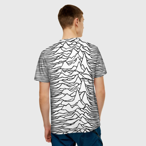 Мужская футболка 3D  Фото 02, White